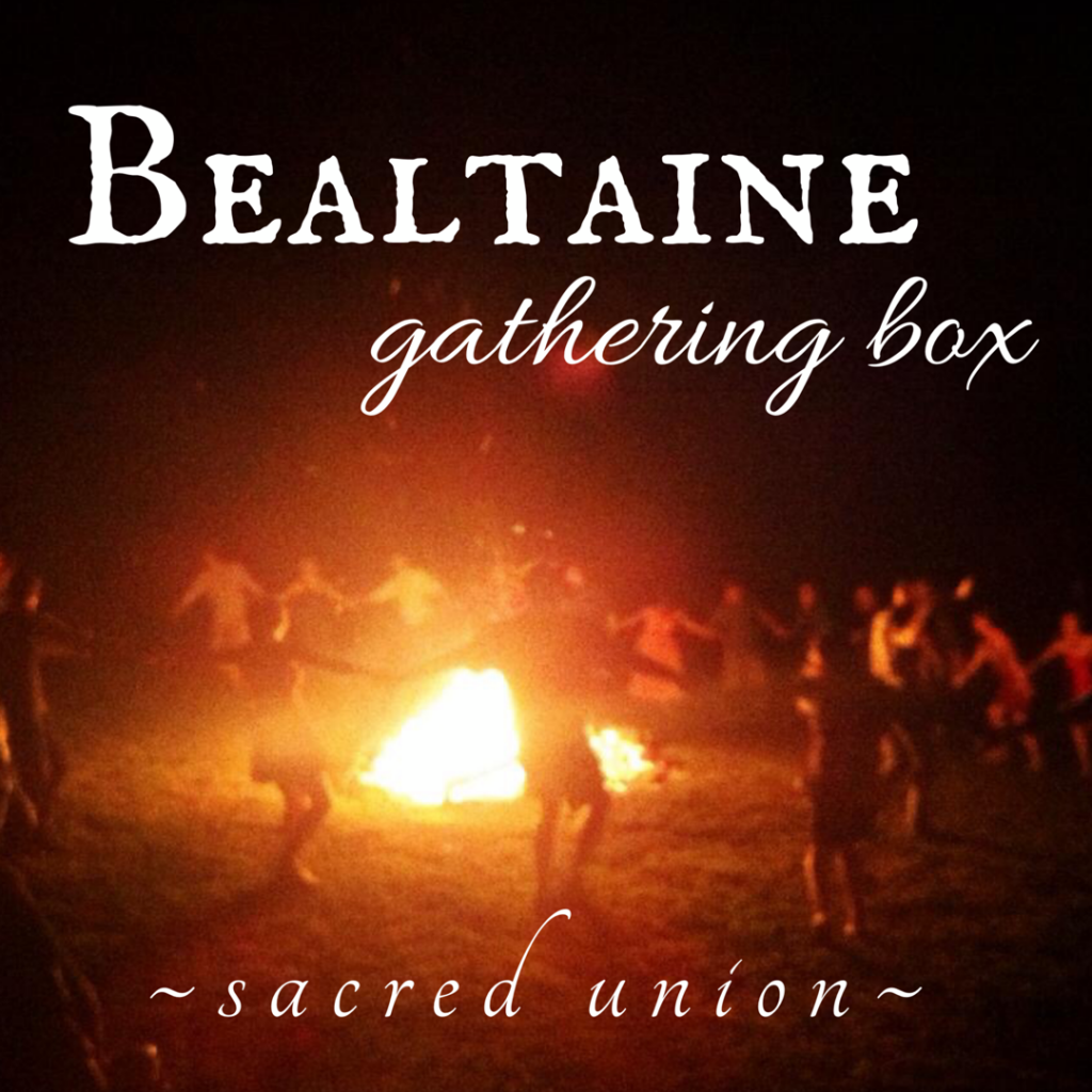 2019 Bealtaine Gathering Box Sacred Union beltane celtic pagan holiday herbal ritual year wheel of the year